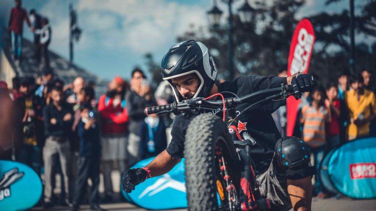 Stunt champion Lakshay Jangid